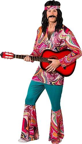 Fancy Me DéguiseHommest Hippie Hippie Hippie boisé pour Homme