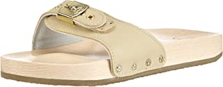 Scholl Unisex Adults Pescura Flat Sand Clogs
