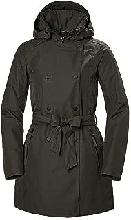 Helly Hansen Welsey Ii Waterproof Windproof Breathable Hooded Insulated Rain Trench Coat Jacket