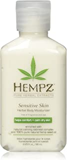 Sponsored Ad - Hempz Sensitive Skin Herbal Body Moisturizer with Oatmeal, Shea Butter for Women and Men,2.25 oz. -Premium,...
