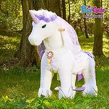 Unicornio tama/ño Medio K41 PonyCycle/® Tienda Oficial 2018 Juguete de Paseo