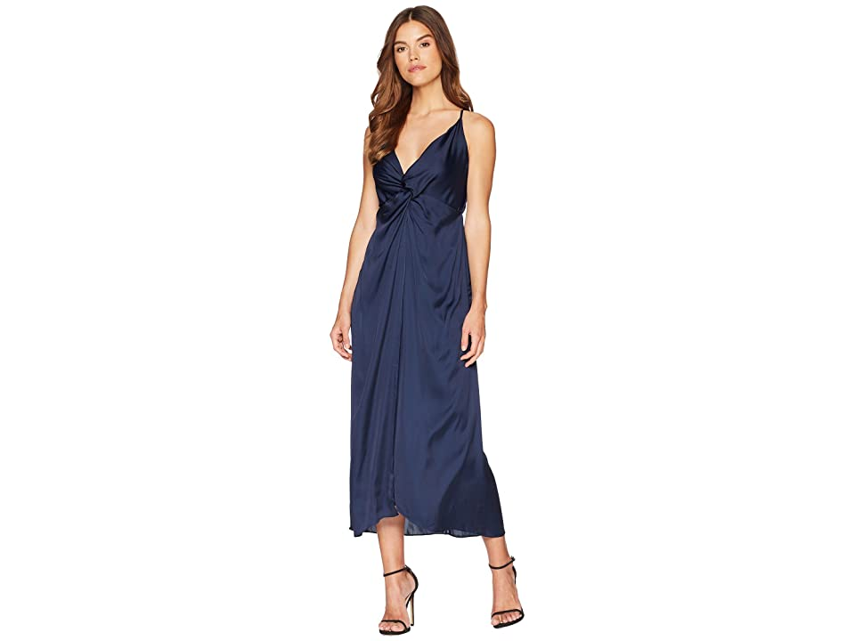 Bardot Ora Twisted Maxi (Navy) Women