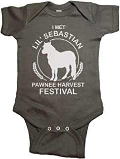 Good Clothes Co I Met Lil Sebastian Parks and Rec Baby One Piece