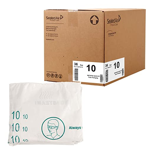 9 x 9.8 in, 75 Pack Okuna Outpost Foam Packing Pouches Moving Supplies and Shipping