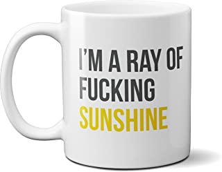 I'm a Ray of Sunshine - Funny Coffee Mug - 11oz Ceramic Cup, Microwave & Dishwasher Safe, Merchandise for Kitchen, Office, Gifts for Friends