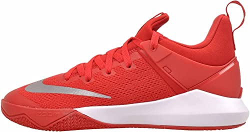 Nike Men's Zoom Shift University rojo blancoo Nylon Basketball zapatos 12.5 D(M) US