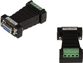 incluye placa adicional para montaje, 1,2 m KALEA INFORMATIQUE Cable conversor USB a RS-485 DB9