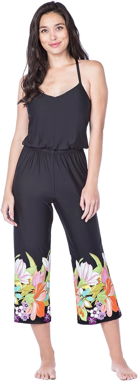 Trina Turk Women's TBack Wide Leg Jumpsuit