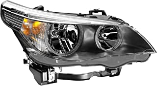 HELLA 008673121 BMW 5 (E60, E61) Passenger Side Headlight Assembly