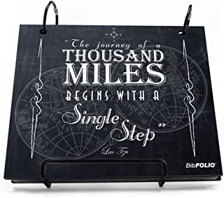 Gone For a Run BibFOLIO Race Bib Album | Bib Holder The Journey of A Thousand Miles