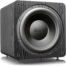 SVS SB-3000 Subwoofer - 13-inch Driver, 800W RMS, 2,500W Peak Power, DSP Control App - Premium Black Ash