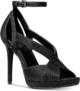 Michael Michael Kors Becky Ankle Strap Black/Black/Black 9.5