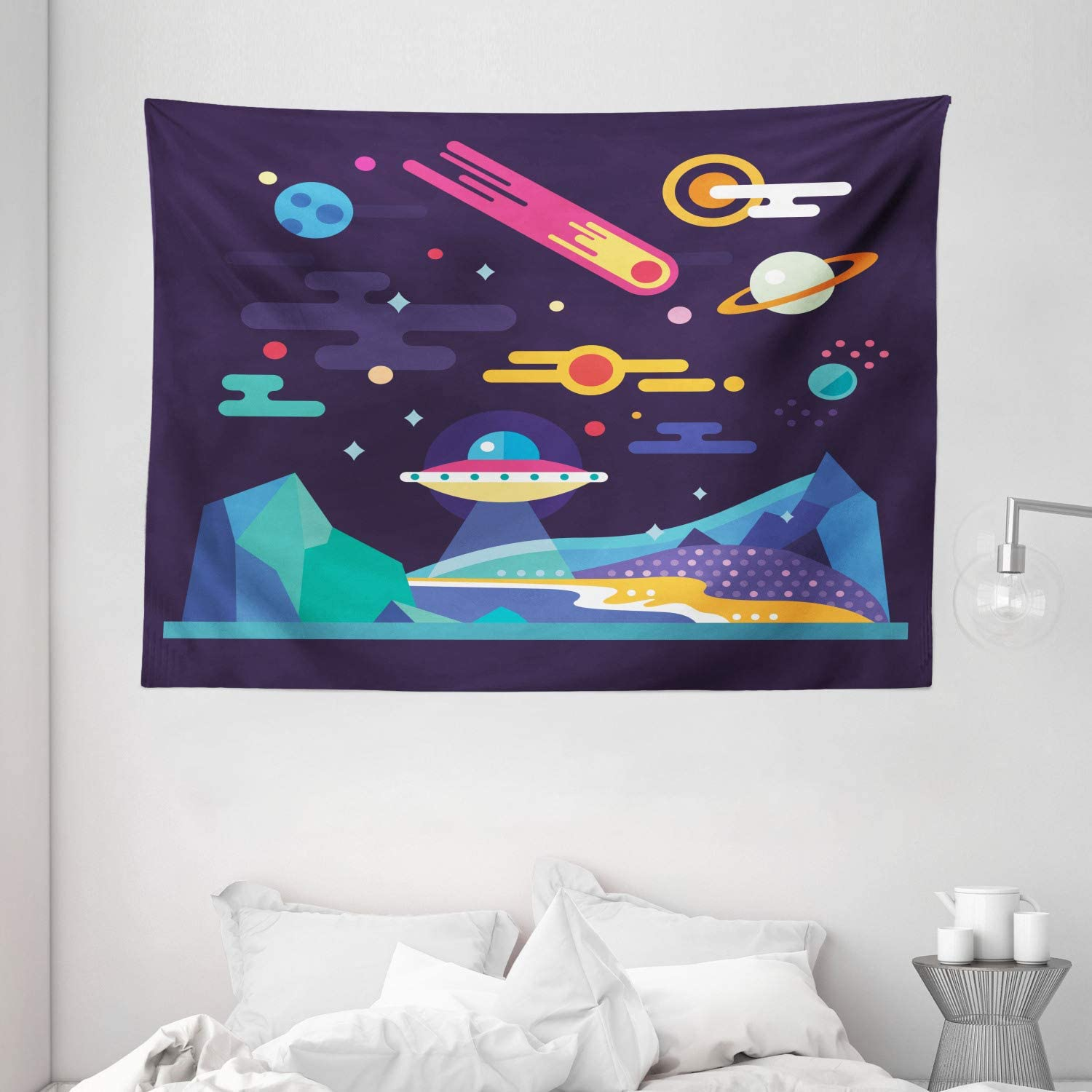 Ambesonne Space Tapestry Galaxy Cosmos Solar Sy Universe Mail order Themed Ranking TOP20