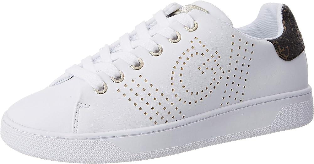 Guess,scarpe sneakers per donna,in ecopelle FL7RAOELE12