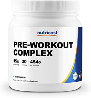Nutricost Pre-Workout Complex (Watermelon) 30 Servings