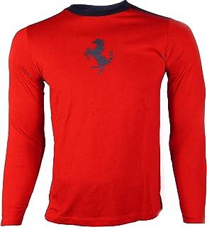 63f2532a19d4c Ferrari - T-Shirt à Manches Longues - Homme