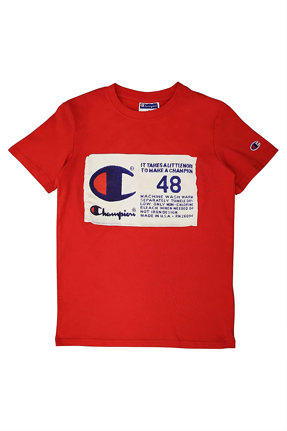 Champion Life Boys Short Sleeve Clothes Kids Overseas parallel import regular item sold out Shirt Tee