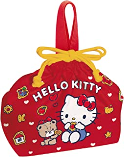 Skater Sanrio Hello Kitty Japanese Purse Type Lunch Bag KB7 43590 from Japan