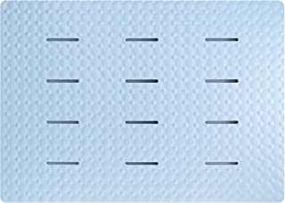 防カビ加工 ラバーフロスノコ アクアムーブ ブルー (幅85×奥行60×厚さ2cm) 74805