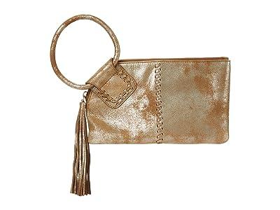Hobo Sable (Gilded Leaf Vintage Hide) Clutch Handbags