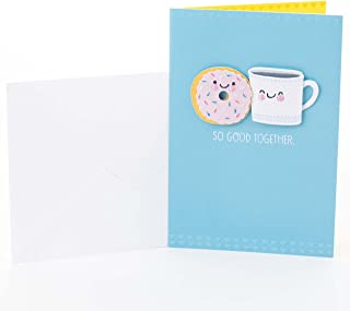 Hallmark Signature Anniversary Card (Coffee and Doughnut)