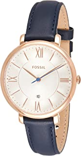 Fossil Casual Ladies Wrist Watch, Blue
