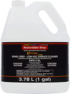 Custom Shop Panel Prep and Degreaser - Low VOC Surface Cleaner and Grease and Wax Remover - 1 Gallon - Great to Remove Any Contaminents Before Painting and Anti-Static Cleaner