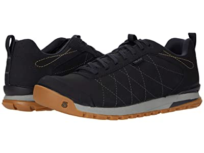 Oboz Bozeman Low Leather (Black) Women