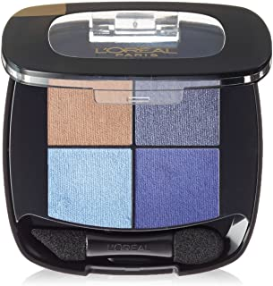 L`Oréal Paris Colour Riche Eye Pocket Palette Eye Shadow, Bleu Nuit, 0.1 oz.