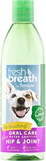 Sponsored Ad - Fresh Breath by TropiClean Oral Care Water Additive Plus Hip & Joint for Pets, 16oz - Made in USA