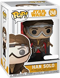 Funko FU26972 POP! Star Wars: #248 Han Solo with Goggles Play Figure
