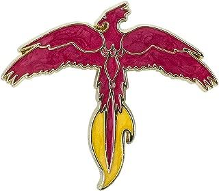 Harry Potter Fawkes Phoenix Enamlel Pin Exclusive