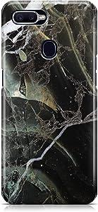 جراب خلفي بطباعة بلاك ماربل لهاتف اوبو F9 من كوفري كيسيس - متعدد الالوان