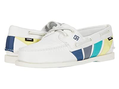 Sperry A/O 2-Eye Bionic (Off-White Multi) Men