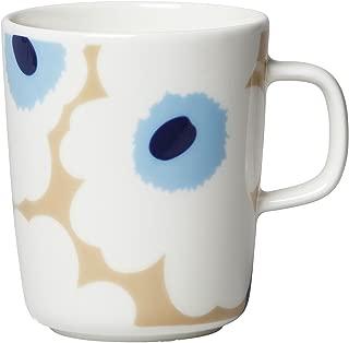 marimekko (マリメッコ) マグカップ ベージュ オフホワイト ブルー 250ml 63431 815