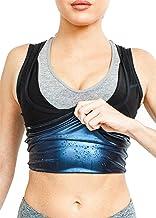 NOVECASA Sweat Shaper Sauna Vest Vrouw Zweetvest Neopreen Premium Polymeer Shapewear Spier Shirt Kostuums voor Fitness Zwe...
