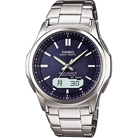 [カシオ] 腕時計 ウェーブセプター 電波ソーラー WVA-M630D-2AJF シルバー