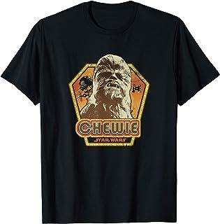 Star Wars Chewbacca Retro Chewie Vintage Camiseta