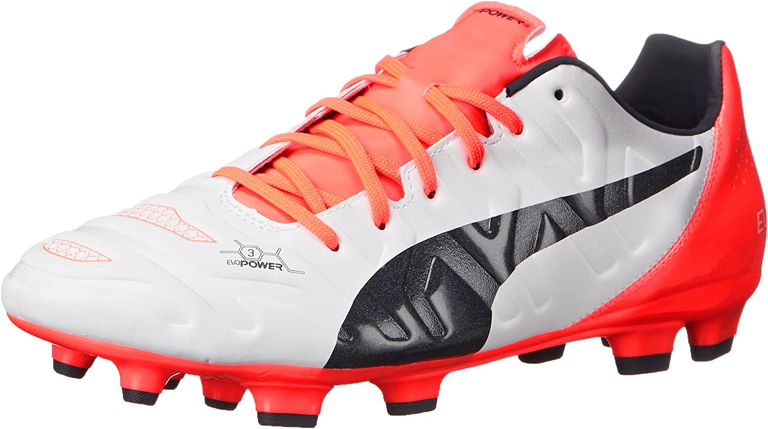 PUMA Men's Evopower 3.2 Firm Ground Soccer Cleat