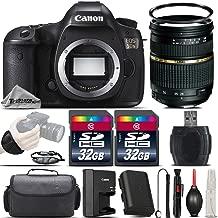 Canon EOS 5DS DSLR 50.6MP Full-Frame CMOS Camera + Tamron 28-75mm f/ 2.8 XR Lens + 64GB Storage + Wrist Grip Strap + Case + UV Filter + Card Reader + Air Cleaner - International Version