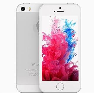 Apple iPhone 5S, GSM Unlocked, 32GB - Silver (Renewed)
