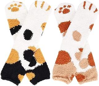 Zaloife, Navidad Calcetines Invierno Calentar Pantuflas de Estar por Casa Super Suaves Cómodos Socks
