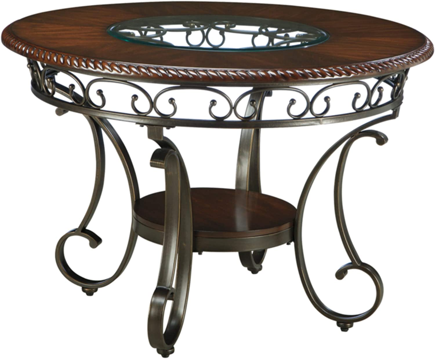 Signature Design by Ashley Glambrey Dining Room Table   Brown