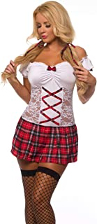 Sexy School Girl Costume for Women 8628