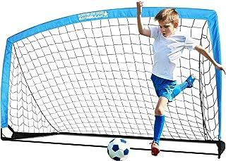 BAYINBULAK Soccer Goal Portable Soccer Net for Kids...