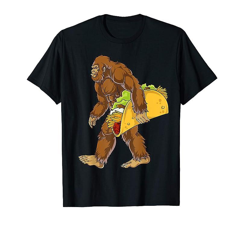 Bigfoot Carrying Taco T shirt Cinco de Mayo Boys Sasquatch pntxupqg448030