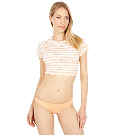 Quintsoul Swimwear Short Sleeve Cropped Rashguard