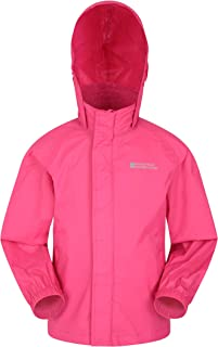 Mountain Warehouse Pakka Kids Rain Jacket - Waterproof, Packable