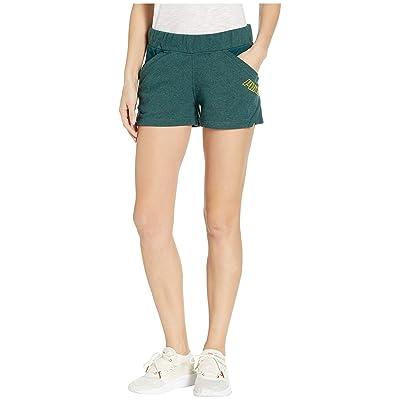 PUMA Yogini 3 Shorts (Ponderosa Pine Heather) Women