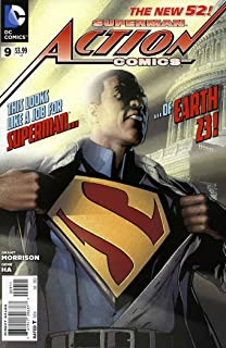 Action Comics (2nd Series) #9 VF/NM ; DC comic book